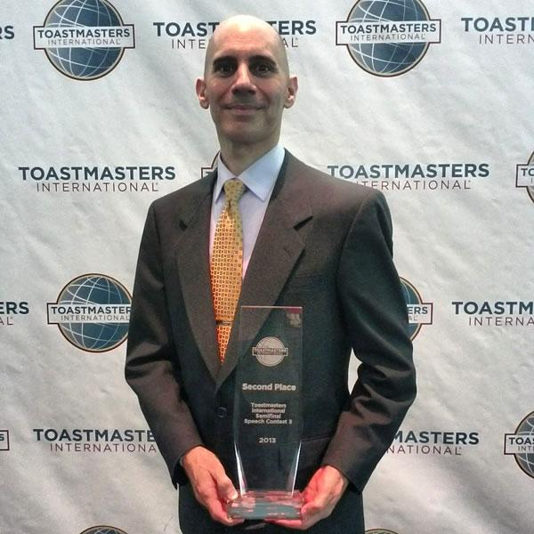 Reid Walley - 2nd Place Winner 2013 Toastmasters International Semifinal Speech Contest
